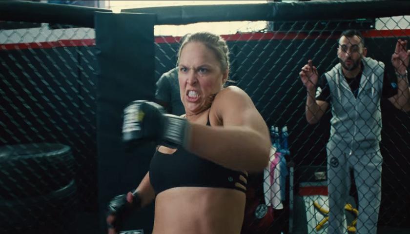 Ronda Rousey Entourage Movie Scene Leaked