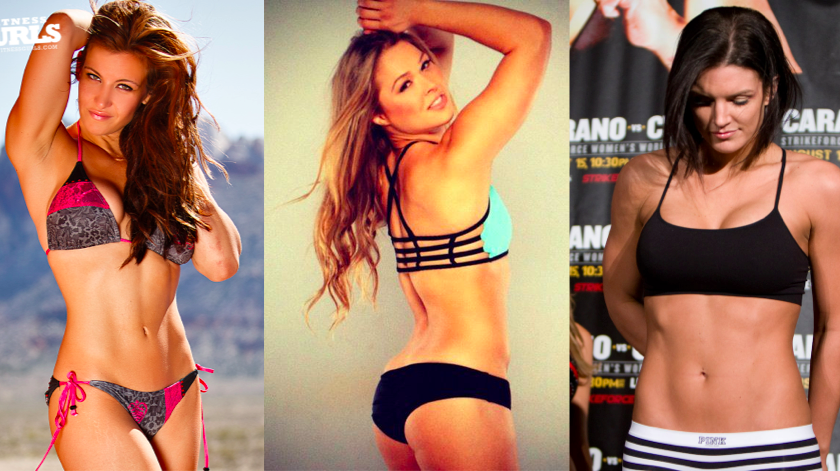 Miesha, Ronda & Gina all named to Maxim's Hot 100 list 2014