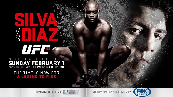 Anderson Silva vs Nick Diaz – January 31, 2015