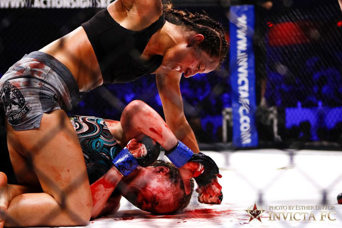 Bloodiest Female MMA Fight