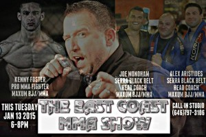East Coast MMA Show - Jan. 13, 2015
