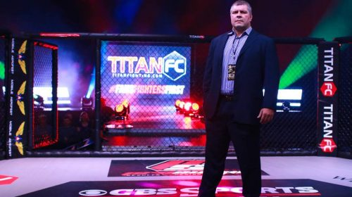 Lex McMahon - COO of Titan FC Fights for Troops