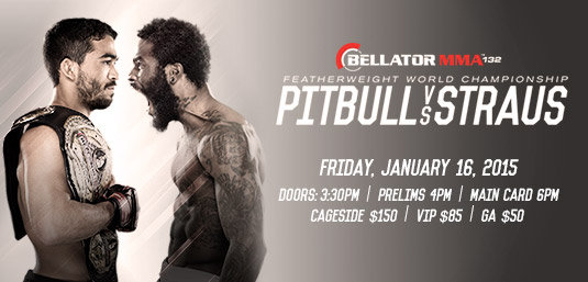 "Bellator MMA announces seven-bout preliminary card for ""Pitbull vs. Straus"""
