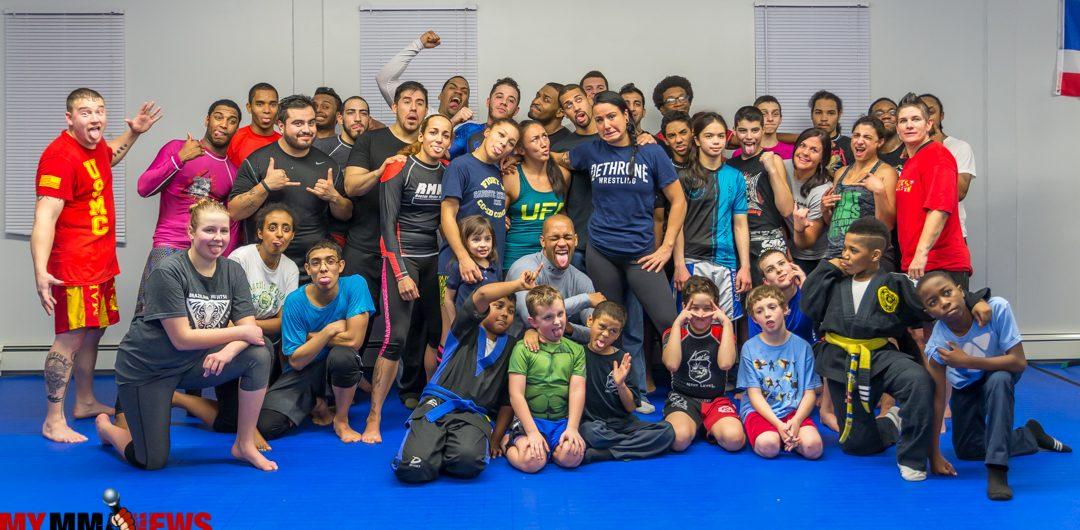 Carla Esparza, Ashlee Evans-Smith, MMA seminar
