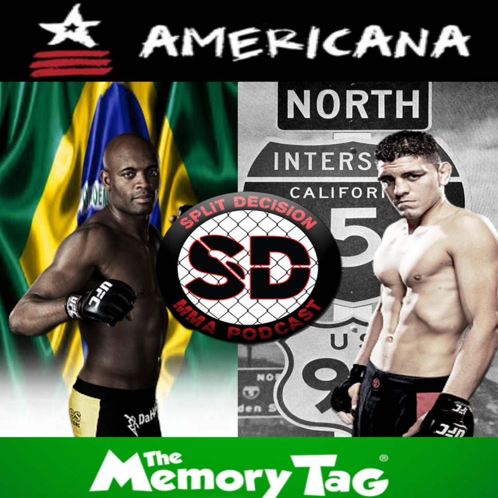 Split Decision MMA Podcast - UFC 183, Stockholm, Carano, Couture, Bowles, Sanchez, EA Sports