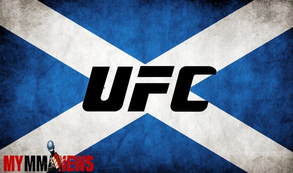UFC announces 3 European events for 2015, Scotland