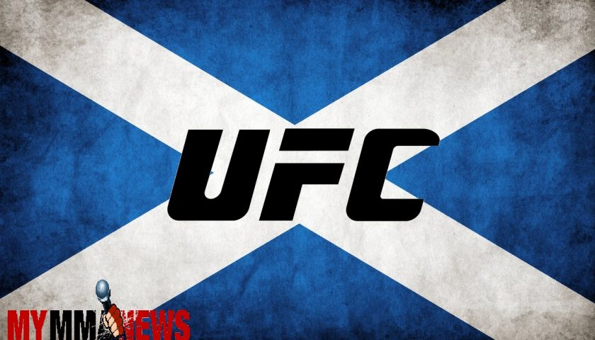 Tickets on sale May 29 for UFC Scotland