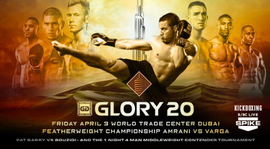 Glory expands to reach Middle East with April event