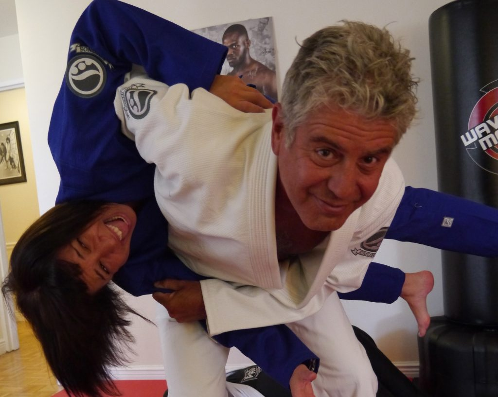 Anthony Bourdain talks about his new found love for Jiu-Jitsu