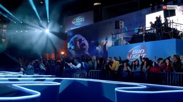 Preview of Super Bowl XLIX commercial featuring Bruce Buffer