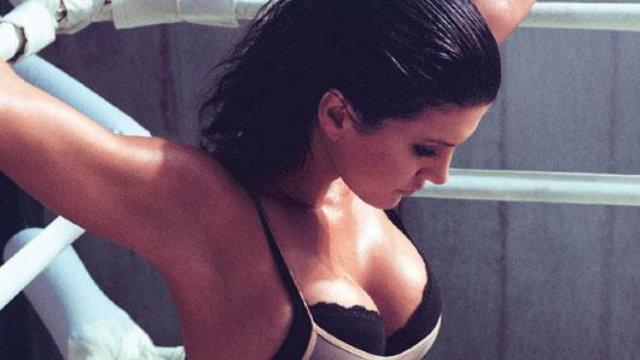 Gina Carano back in training