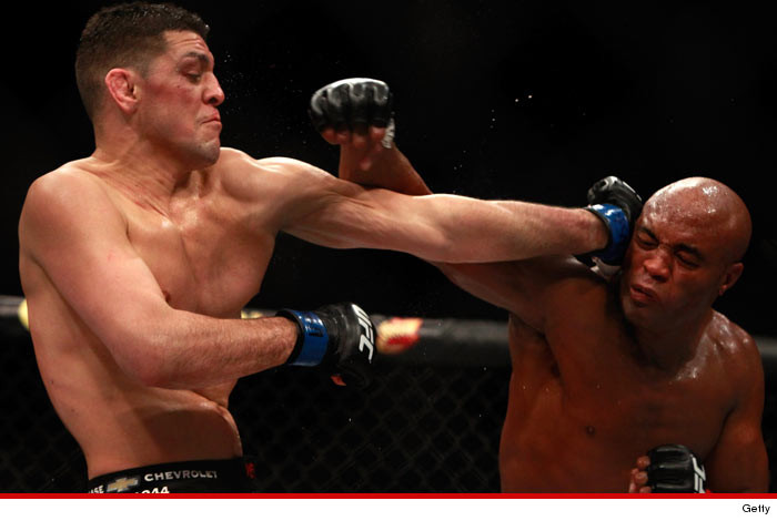 Nick Diaz's Trainer OVERTURN THE FIGHT … Silva Is a Cheater