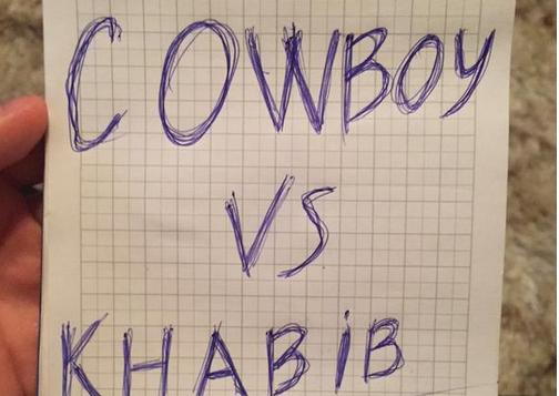 Khabib calls Cowboy Cerrone a 'Liar'