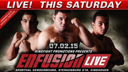 Fight Network Presents Enfusion 24 Eindhoven LIVE this Saturday, Feb. 7 at 3 p.m. ET