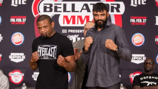 Bellator 134: British Invasion weigh-in results