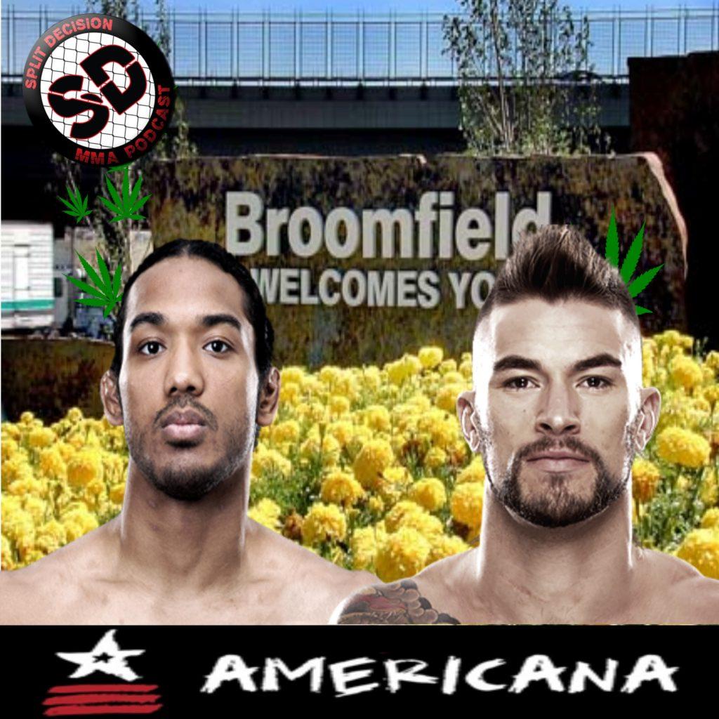 Split Decision MMA Podcast - UFC Broomfield, Esparza, Faber, WSOF, Schaub, Fines?