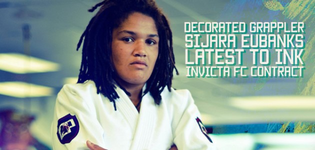 Decorated Grappler Sijara Eubanks latest to ink Invicta FC contract