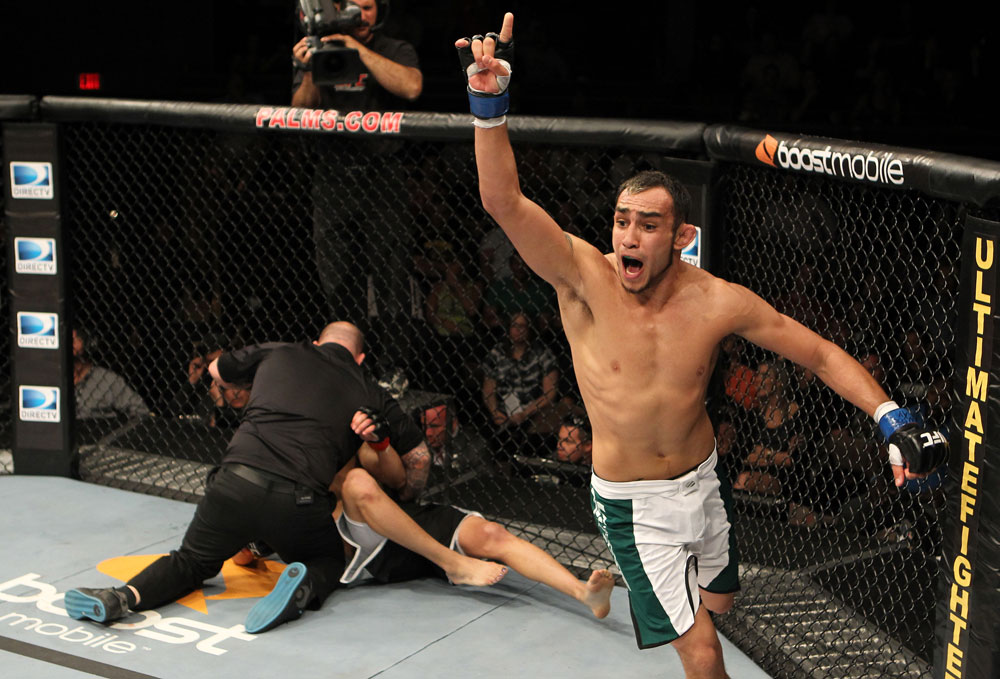 Tony Ferguson sees no way he can lose at UFC 184 against Gleison Tibau