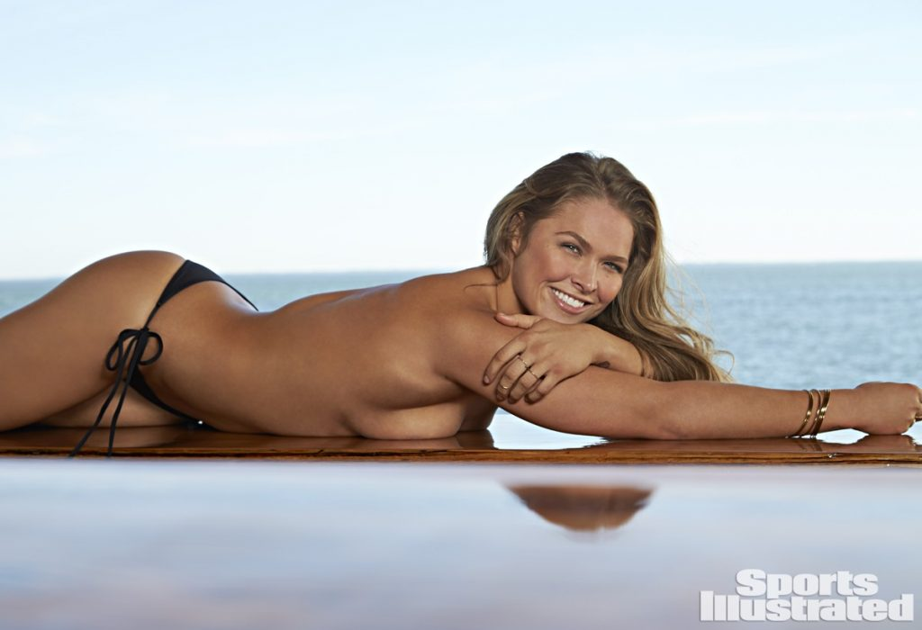 Ronda Rousey in Sports Illustrated Swimsuit Issue - PHOTOS HERE