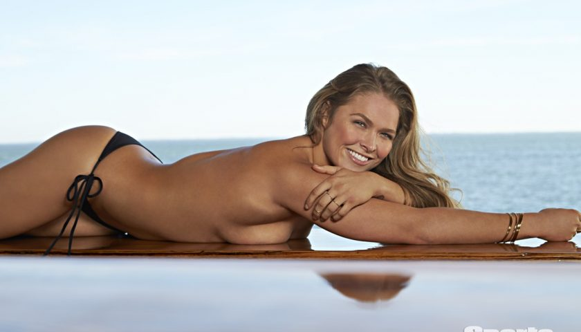 Ronda Rousey in Sports Illustrated Swimsuit Issue – PHOTOS HERE