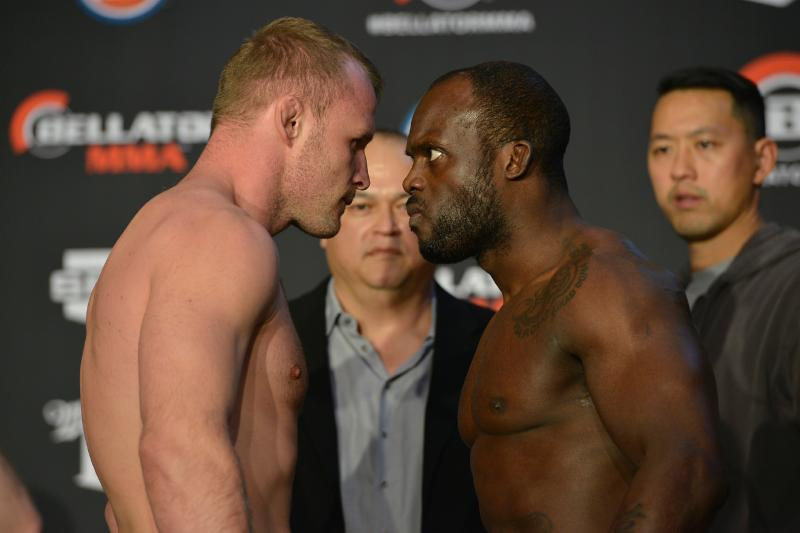 Bellator: Manhoef vs. Shlemenko official weights, photos and quotes