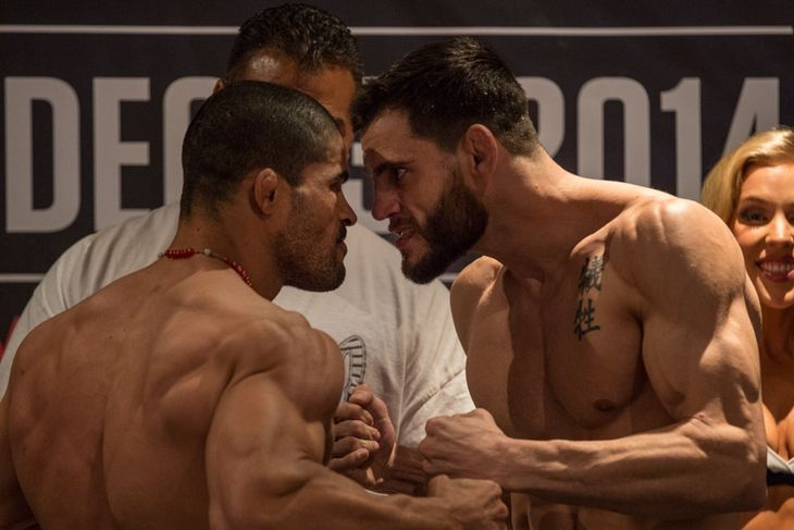 Jon Fitch Fails Drug Test from WSOF 16