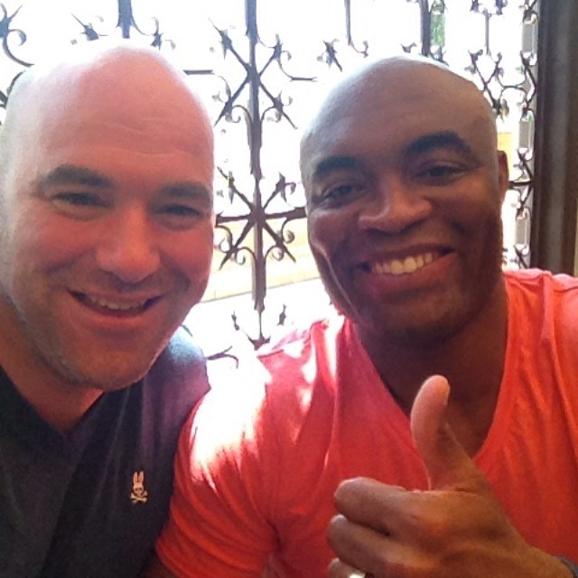 Dana White statement on Anderson Silva