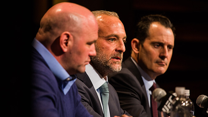 Full transcript from UFC Press Conference - Feb. 18, 2015