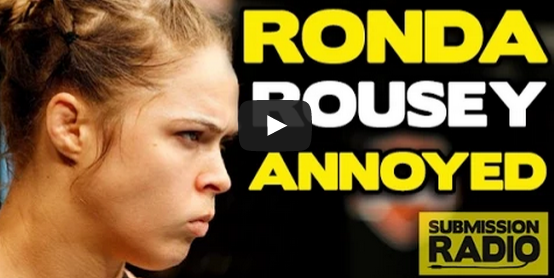 Ronda Rousey Blasts 'Mama's Basement' Reporter