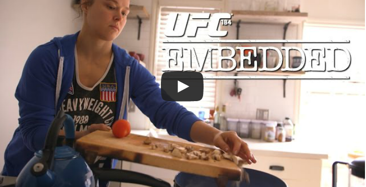 Watch Episode 1 Of UFC 184 Embedded: Rousey Vs. Zingano