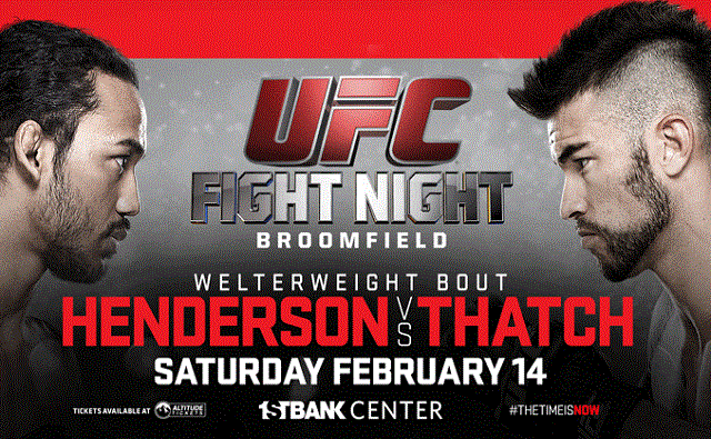 UFC Fight Night 60 results - Henderson vs Thatch