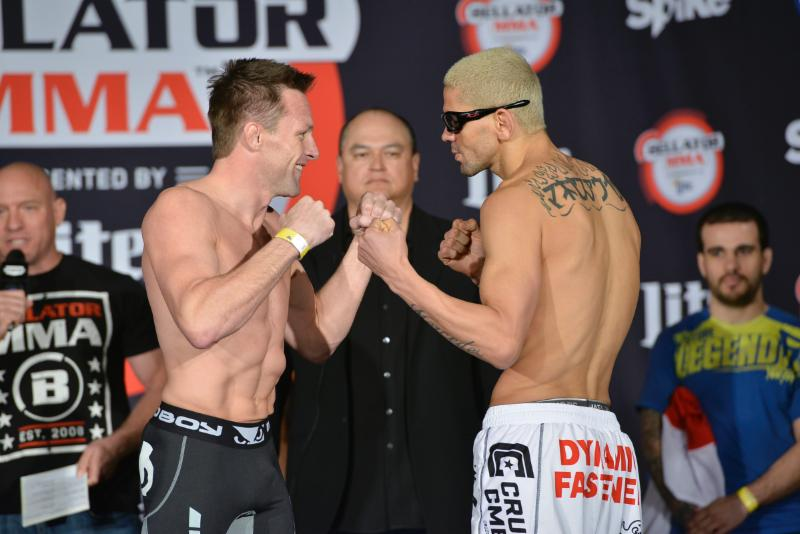 Bellator: Warren vs Galvao official weights, photos and quotes