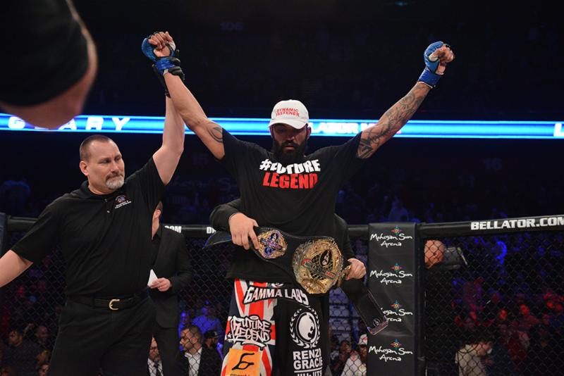 Bellator MMA signs Liam McGeary to a multi-year, multi-fight contract extension