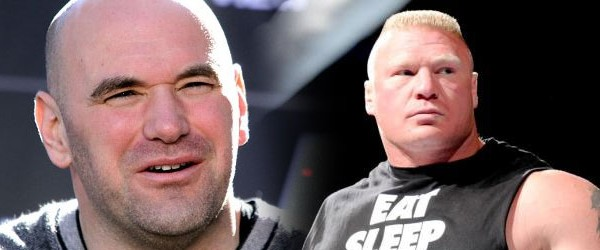 Dana White happy for Brock Lesnar