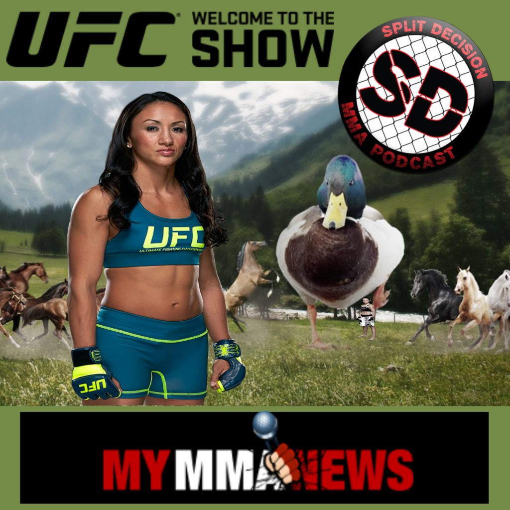 Carla Esparza interview – Split Decision MMA Podcast – 3-12-15