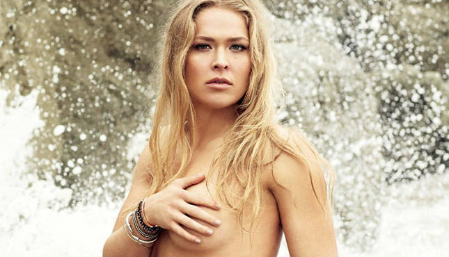 Ronda Rousey #2 in Top 99 Outstanding Women