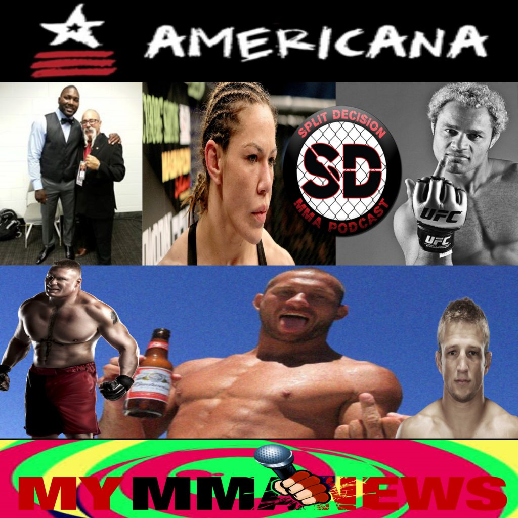 Split Decision MMA Podcast - #UFCRIO, Kos, Gene Fields, Cyborg, Brock, TJ