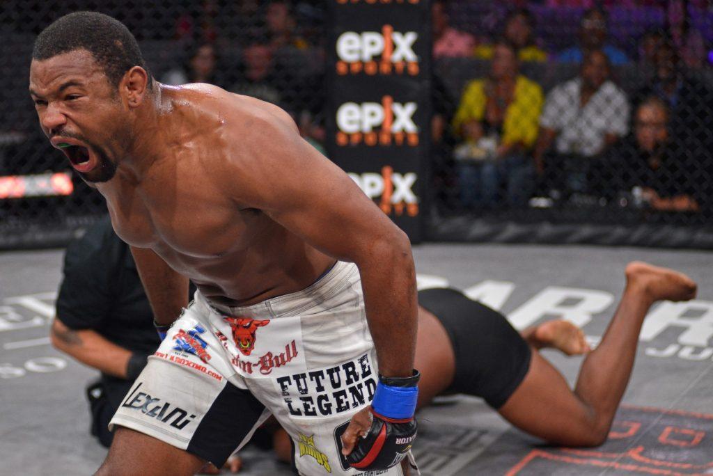 Former Bellator champ Emanuel Newton tests positive for marijuana
