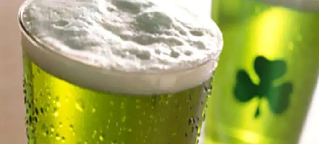 Green beer on St. Paddy's Day ??? Here's why not