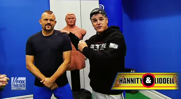 Hannity goes one on one with Chuck Liddell