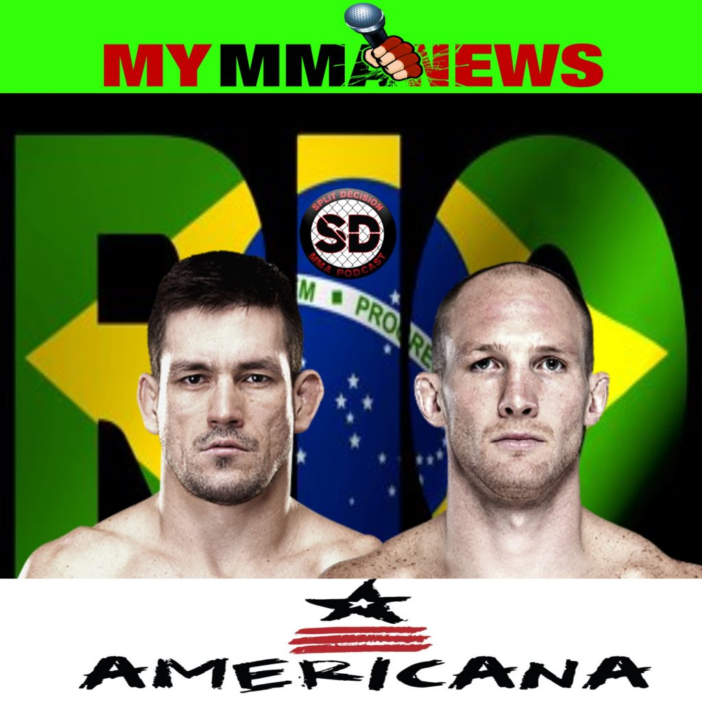 Split Decision MMA Podcast – 3-20-15 – MMA News, UFC 185, UFC Fight Night Rio