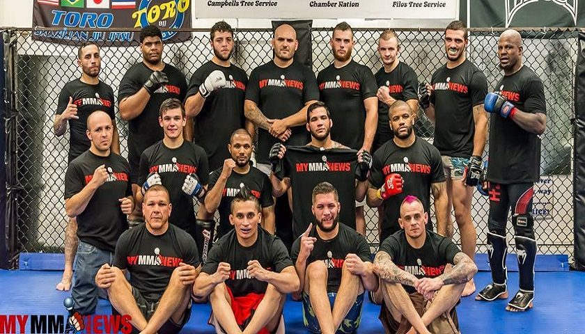 MyMMANews.com Sponsored Fighters
