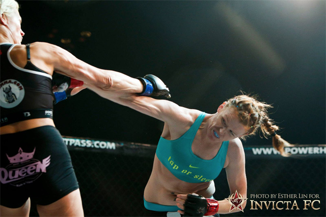 Tonya Evinger:  If you have a vagina, I want to fight you