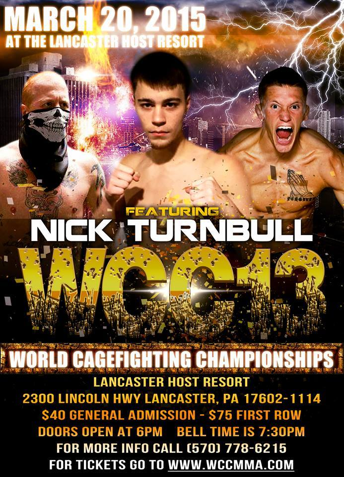 Brotherly love, Matt and Nick Turnbull discuss WCC 13 and who would win in a fight
