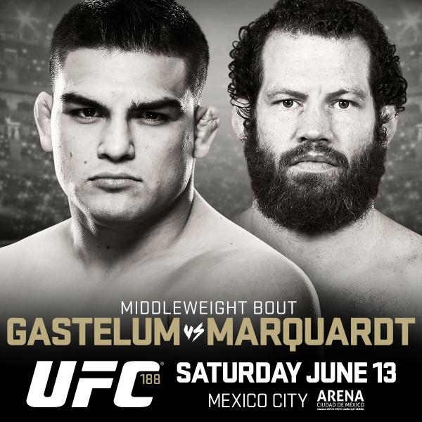Kelvin Gastelum vs Nate Marquardt set for UFC 188