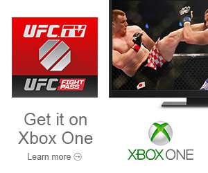 UFC.TV now available on XBox One