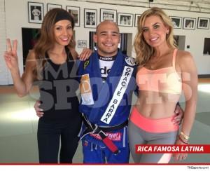 'Rica Famosa Latina' Stars Hardcore Jiu-Jitsu Training ... At Famed MMA Gym