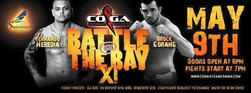 Brock Gorang makes professional debut at Battle at the Bay 11