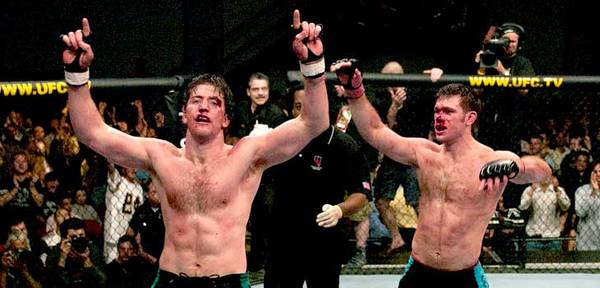 Ten years ago today, first Ultimate Fighters crowned