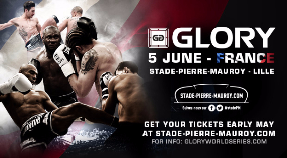 Stade Pierre Mauroy In Lille, France to host Glory 22 on June 5